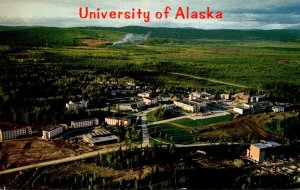 Alaska Fairbanks Aerial View University Of Alaska