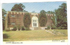 Haygood Hall, Physical Education Building, Henderson State Teachers College, ...