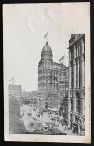 Park Row NY Ill. Post Card Co No 139 1905