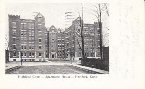 Highland Court Apartment House Hartford 1901