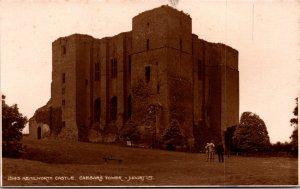 Caesar's Tower Kenilworth Castle England UK vintage postcard