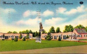 Montana Bozeman Mountain View Courts 1949