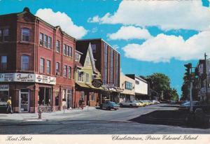 Kent Street , Charlottetown , P.E.I. , Canada , 60-80s