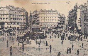 Spain Madrid Puerta del Sol 1923