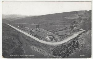 Denbighshire; Horseshoe Pass, Llangollen 89091 PPC By Valentines, Unused, c 20s