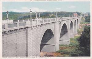 Connecticut Boulevard Bridge, Washington, DC - DB - Detroit Publishing
