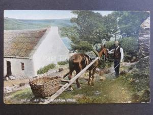 Ireland AN IRISH MOUNTAIN FARM - Old Postcard by Hartmann No.2767.19