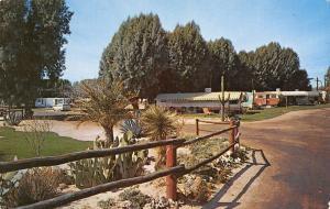Wickenburg Arizona~Desert Cypress Trailer Ranch~Mobile Motor Home Park~1960