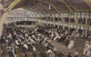 New Jersey Atlantic City Open Air Concert On Steel Pier 1916