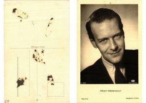 CPA AK Albert Matterstock. Ross Verlag foto A 3248/1 FILM STAR (559400)