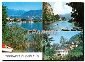 Postcard Modern Torrazza di Caslano