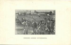BOER WAR, Boer Cavalry, Dutch Insurance Company Ad Card