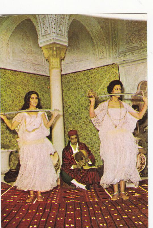 TUNIS , Tunesia, 50-70s ; Sword Dancers
