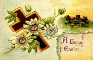 Greeting - Easter    (small crease)