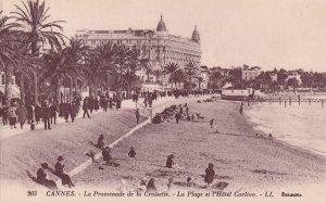 CANNES, Alpes Maritimes, France, 1900-1910s; La Promenade De La Croisette, La...