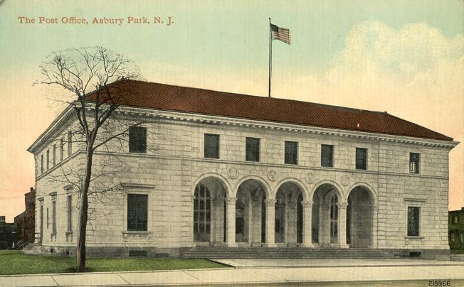 The Post Office - Asbury Park NJ, New Jersey - DB