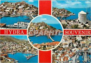 Postcard Modern Hydra Remembrance