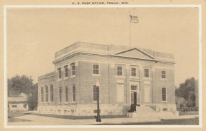 TOMAH , Wisconsin , 1900-10s ; U.S. Post Office