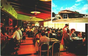Città 'N Country Cafe Sioux Falls South Dakota SD Unp Vtg Cromo Cartolina
