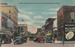 BROWNWOOD , Texas , 1930-40s ; Center Avenue