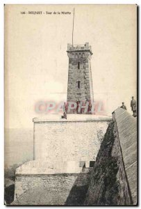 Belfort Old Postcard Tower Miotte