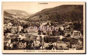 Old Postcard LA BOURBOULE - General view and Vallee Vendeix