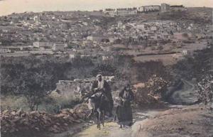 Jerusalem , Israel , 00-10s ; Arab couple on road