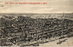 CPA AK Ludwigshafen- Bad.Anilin-und Sodafabrik GERMANY (1024154)