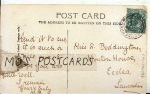 Genealogy Postcard - Boddington - Monton House - Eccles - Lancashire - Ref 8991A