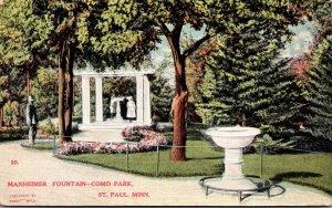 Minnesota St Paul Como Park Manheimer Fountain