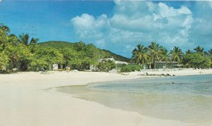 St Thomas, US Virgin Islands - Sandy Beach at Sapphire Bay Resort - pm 1976