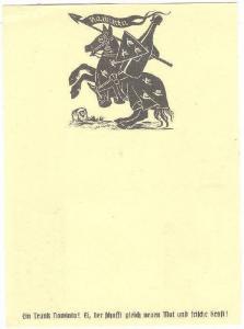 Beer Advertising postcard , 30-40s ; Bayern , Germany 7/10
