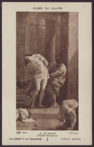 Le Christ A La Colonne Postcard