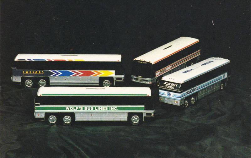 Promotional Bank Motor Coaches(BUSES), Royal Coach, Mechanicsburg, Pennsylvan...