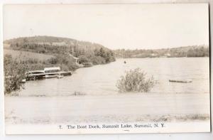 RPPC, Boat Dock, Summit Lake, Summit NY
