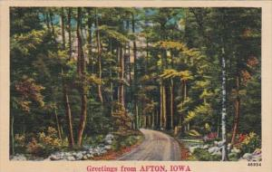 Greetings From Afton Iowa 1944