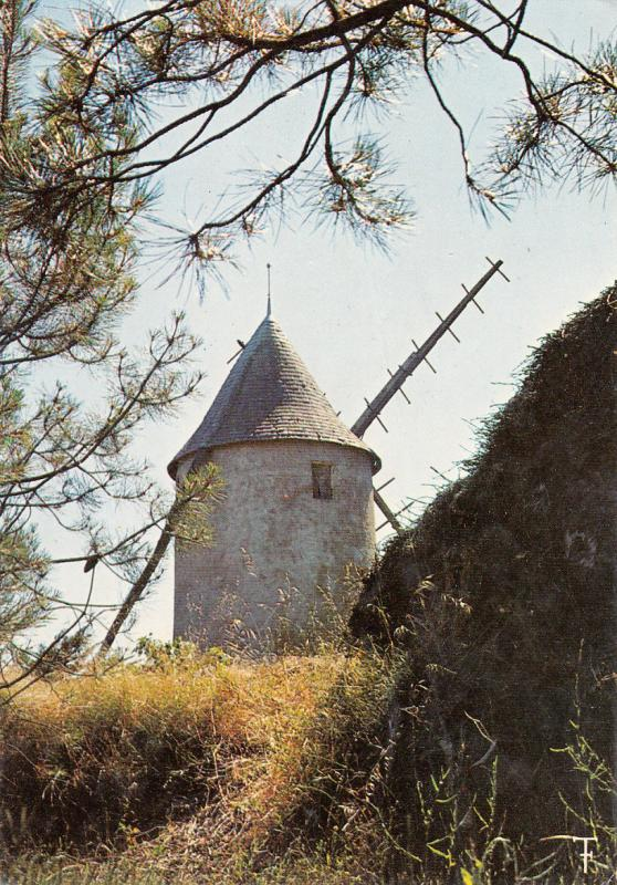 FRANCE VENDEE JARD SUR MER - LE MOULIN A VENT, WIND MILL