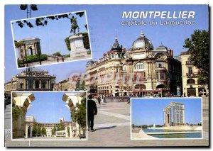 Postcard Modern Montpellier Herault Place de la Comedie in the Hotel Antigone...