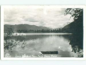 1950's rppc NICE VIEW Falls Creek In Durango Colorado CO i7328