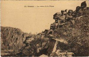 CPA CROZANT Les Rochers de la Fileuse (1143743)