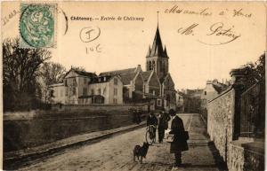CPA  Chatenay - Entrée de Chatenay  (489314)