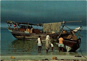 PC CPA BAHRAIN, BAHRAIN, FISHING DHOWS, Modern Postcard (B3768)
