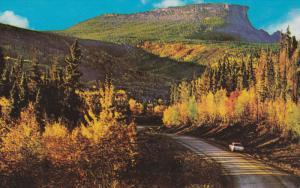 Indian Head Rock, Alaska Highway, ALASKA, 40-60s