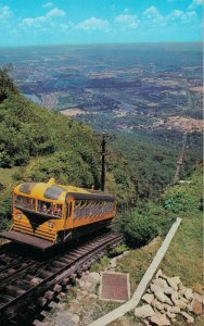 USA Tennessee Chattanooga View Incline Station at top of Lookout Mountain 05.76