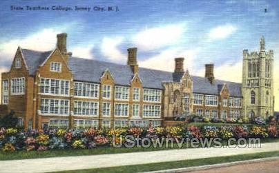 State Teachers College Jersey City NJ Unused