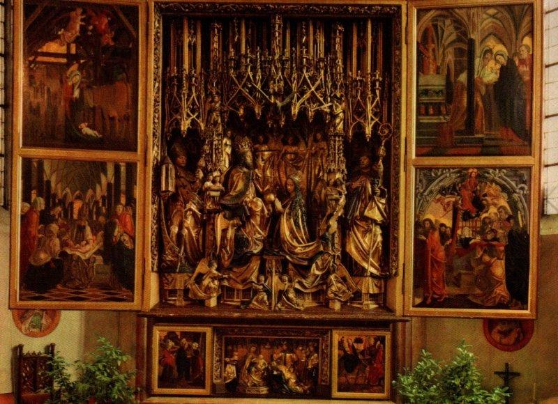 Wallfahrtskirche St Wolfgang,Salzkammergut,Germany BIN