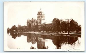 *Exhibition Building Melbourne Australia RPPC Vintage Real Photo Postcard C90