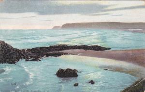 DUNEDIN, New Zealand, 1900-1910's; Sunset Ocean Beach