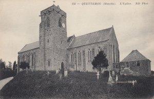 QUETTEHOU (Manche), France; 00-10s ;  L'Eglise