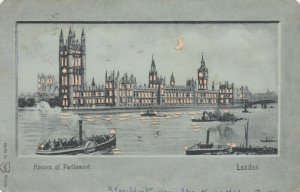LONDON , UK , 1903 ; Parliament ; Hold-To-Light / H-T-L